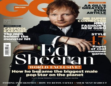 Ed Sheeran talks Adele being his Biggest Competitor in British GQ's Latest Issue