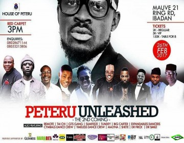 House of Peteru Presents: Peteru Unleashed!(The 2nd Coming)