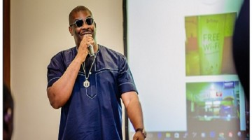 Don Jazzy and Tsaboin CEO, Dele Odufuye, launch Flobyt to offer free WiFi in public places