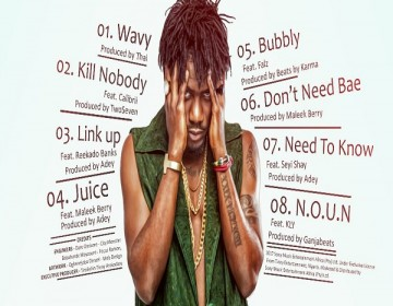 """Ycee unveils tracklist for his debut EP titled """"The First Wave"""""""