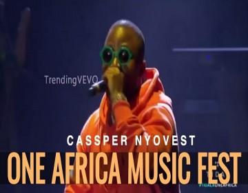 Cassper Nyovest Full performance on One Africa Music Fest 2017 in London
