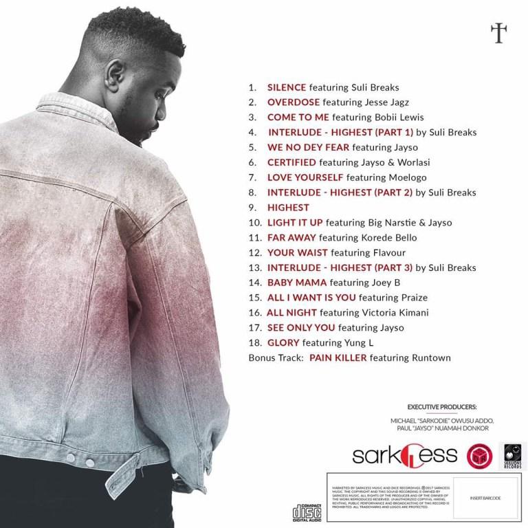 Sarkodie-Highest-Album-Tracklist