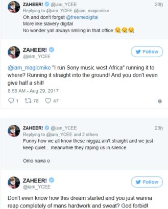 zaheer tweets