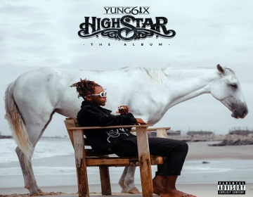 "Yung6ix unveils Cover Art for forthcoming Album ""High Star"""