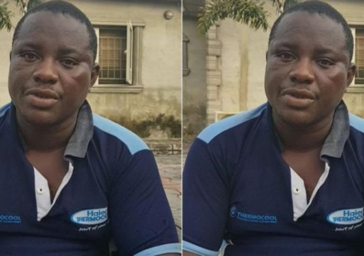 Haier Thermocool Staff Ifeanyi Emmanuel Rapes Young Girl During House Call