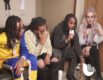 Migos Cut Interview Short After Presenter Asked About Cardi B Engagement | Watch