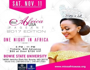 Meet The Contestants of Miss Africa USA 2017