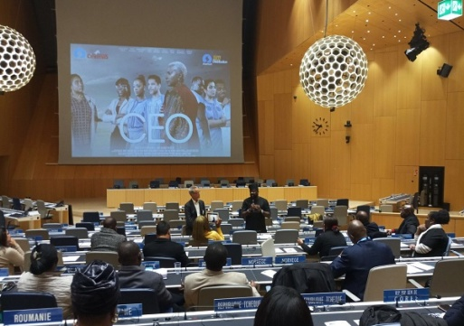 """The  United Nations (WIPO) Hosts Movie Producer """"Kunle Afolayan"""" In Geneva,Switzerland"""