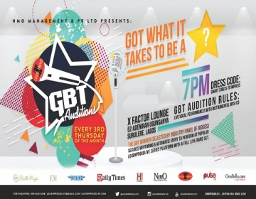 The GBT Auditions Is Back!!!