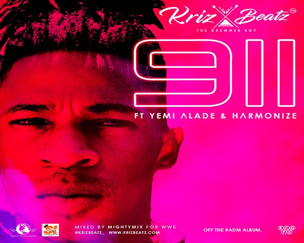 NEW VIDEO: Krizbeatz ft. Yemi Alade & Harmonize – 911