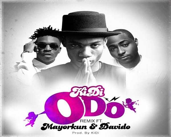 NEW VIDEO: KiDi ft. Mayorkun & Davido – Odo (Remix)